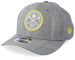Denver Nuggets Training Series 9Fifty Stretch-Snap Dark Grey/Yellow Snapback - New Era