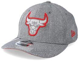 Chicago Bulls Training Series 9Fifty Stretch-Snap Dark Grey/Red Snapback - New Era