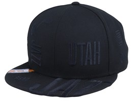 Utah Jazz Tipoff Series 9Fifty Black Snapback - New Era