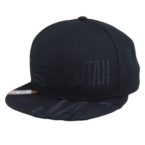 Keps Utah Jazz Tipoff Series 9Fifty Black Snapback - New Era - Svart Snapback