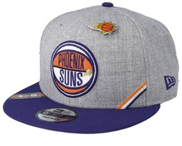 Phoenix Suns 19 NBA 9Fifty Draft Heather Grey/Purple Snapback  - New Era