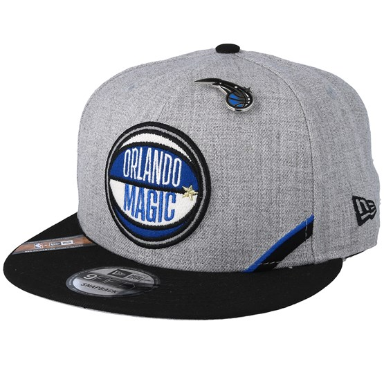 Keps Orlando Magic 19 NBA 9Fifty Draft Heather Grey/Black Snapback - New Era - Grå Snapback