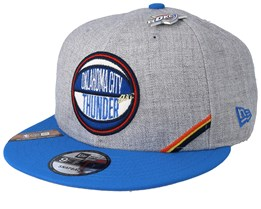 Oklahoma City Thunder 19 NBA 9Fifty Draft Heather Grey/Blue Snapback  - New Era