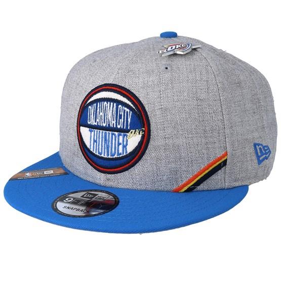 check out 60d24 4c6c8 Oklahoma City Thunder 19 NBA 9Fifty Draft Heather Grey Blue Snapback - New  Era caps - Hatstoreaustralia.com