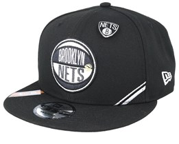 Brooklyn Nets 19 NBA 9Fifty Draft Black Snapback  - New Era