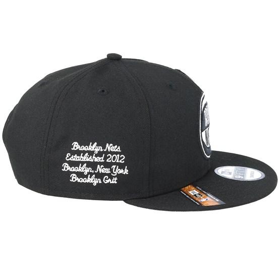 professional sale factory authentic cute Brooklyn Nets 19 NBA 9Fifty Draft Black Snapback - New Era caps ...