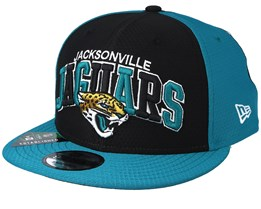 Jacksonville Jaguars On Field 19 9Fifty 1990 Black/Teal Snapback - New Era