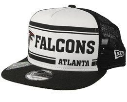 Atlanta Falcons  On Field 19 9Fifty 1970 White/Black Trucker - New Era