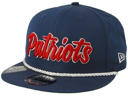 New England Patriots On Field 19 9Fifty 1960 Navy/Red Snapback - New Era