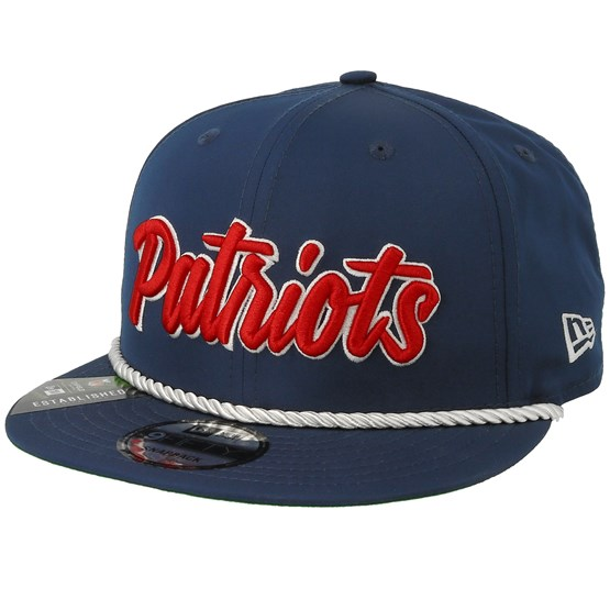Keps New England Patriots On Field 19 9Fifty 1960 Navy/Red Snapback - New Era - Blå Snapback