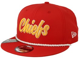 Kansas City Chiefs On Field 19 9Fifty 1960 Red/Yellow Snapback - New Era