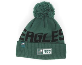 Philadelphia Eagles On Field 19 Sport Knit Green/Black Pom - New Era