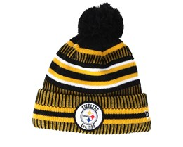 Pittsburgh Steelers On Field 19 Sport Knit Yellow/Black Pom - New Era