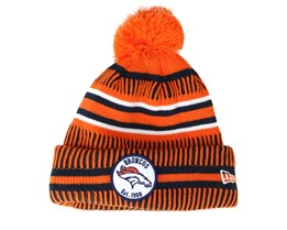 Denver Broncos On Field 19 Sport Knit 2 Orange/Black Pom - New Era