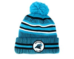 Carolina Panthers On Field 19 Sport Knit 2 Blue/Black Pom - New Era