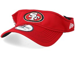 San Francisco 49ers On Field 19 Red Visor - New Era