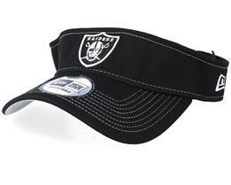 Oakland Raiders On Field 19 Black Visor - New Era