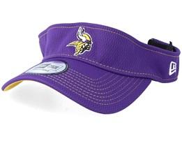 Minnesota VikingsOn Field 19 Purple Visor - New Era