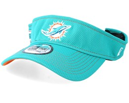 Miami Dolphins On Field 19 Teal Visor - New Era