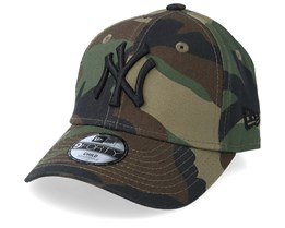 Kids New York Yankees League Essential 9Forty Camo/Black Adjustable - New Era