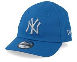 Kids New York Yankees Infant League Essential 9Forty Blue/Light Blue Adjustable - New Era