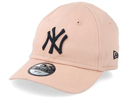 Kids New York Yankees Infant League Essential 9Forty Pink/Navy Adjustable - New Era