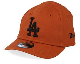Kids Los Angeles Dodgers Infant League Essential 9Forty Rust/Black Adjustable - New Era