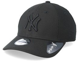 Kids New York Yankees Diamond 9Forty Black/Black Adjustable - New Era