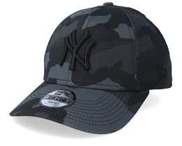 Kids New York Yankees Essential 9Forty Black Camo/Black Adjustable - New Era