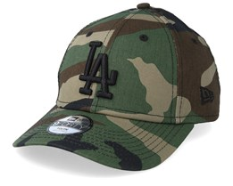 Kids Los Angeles Dodgers Essential 9Forty Green/Black Adjustable - New Era