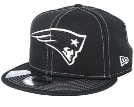 New England Patriots NFL 19 9Fifty Black/White Snapback - New Era