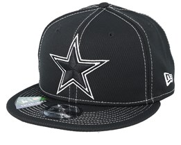 Dallas Cowboys NFL 19 9Fifty Black/White Snapback - New Era