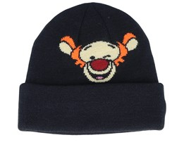 Kids Tigger Disney Character Knit Black Cuff - New Era