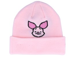 Kids Pigglet Disney Character Knit Pink Cuff - New Era