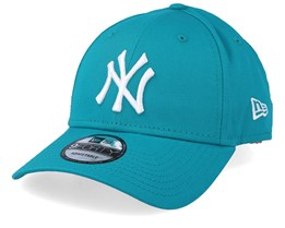 New York Yankees Basic 9Forty Teal/White Adjustable - New Era