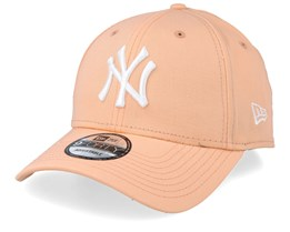 New York Yankees Basic Peach/White Adjustable - New Era