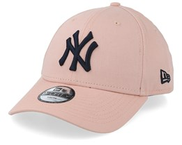Kids New York Yankees League Essential 9Forty Pink/Navy Adjustable - New Era