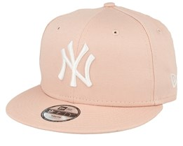 Kids New York Yankees League Essential 9Fifity Pink/White Snapback - New Era