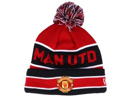 Manchester United Jake Knit Red/Black Pom - New Era