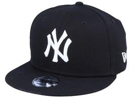 Kids New York Yankees Essential 9Fifty Black/White Snapback - New Era