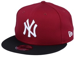 New York Yankees Color Block 9Fifty Cardinal/Black Snapback - New Era