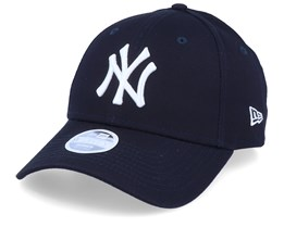 New York Yankees League Essential Womens 9Forty Navy/White Adjustable - New Era