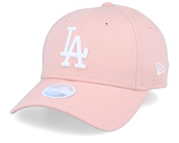 Los Angeles Dodgers League Essential Womens 9Forty Pink/White Adjustable - New Era
