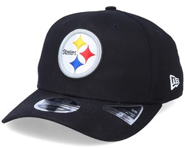 Pittsburgh Steelers Team Stretch 9Fifty Black/White Adjustable - New Era