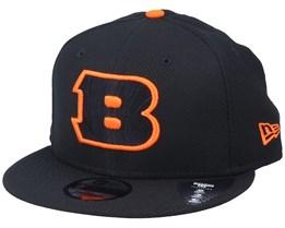 Cincinnati Bengals Team Outline 9Fifty Black/Orange Snapback - New Era