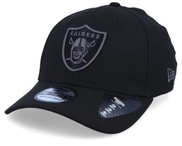 Oakland Raiders Team 39Thirty Black/Black Flexfit - New Era