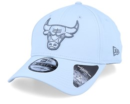 Chicago Bulls Winter Script Grey/Grey Adjustable - New Era