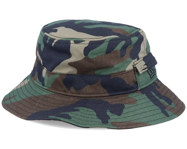Adventure Dogear Camo Bucket - New Era