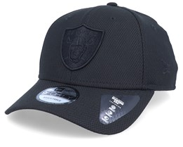 Oakland Raiders Mono Team Colour 9Fifty Black/Black Adjustable - New Era