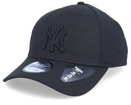 New York Yankees Mono Team Colour 9Forty Black/Black Adjustable - New Era